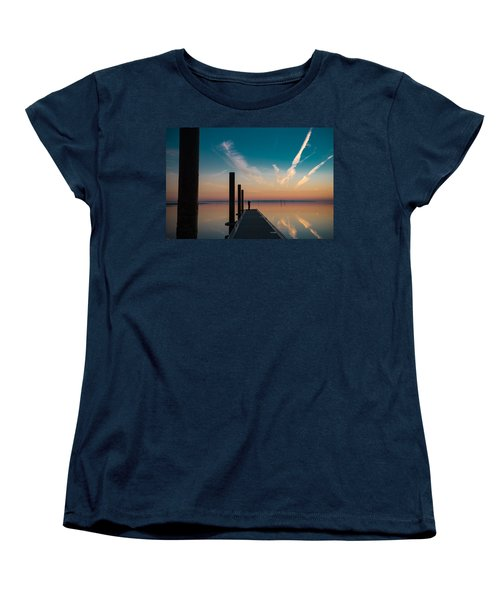 Women's T-Shirt (Standard Cut) featuring the photograph Follow Me by Thierry Bouriat