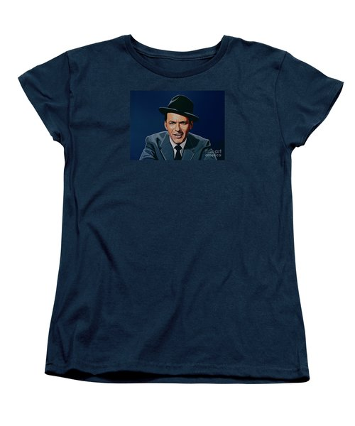 Frank Sinatra Women's T-Shirt (Standard Cut) by Paul Meijering
