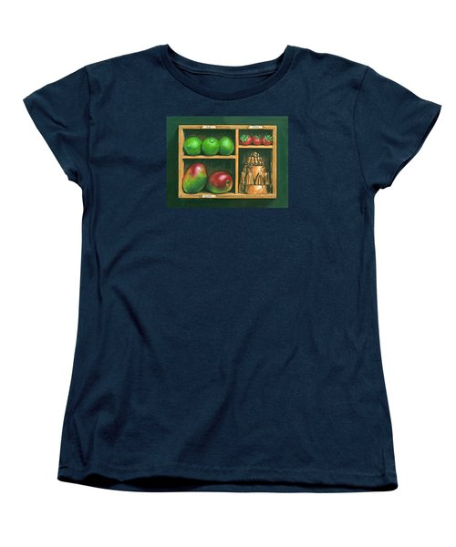 Fruit Shelf Women's T-Shirt (Standard Cut) by Brian James