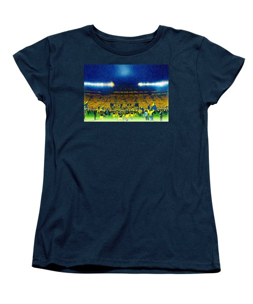 Glory At The Big House Women's T-Shirt (Standard Cut) by John Farr