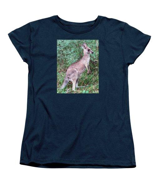Grazing In The Grass Women's T-Shirt (Standard Cut) by Ellen Henneke
