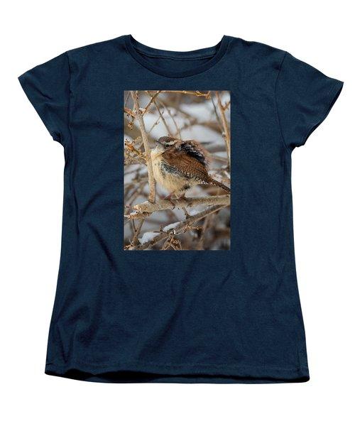 Grumpy Bird Women's T-Shirt (Standard Cut) by Bill Wakeley
