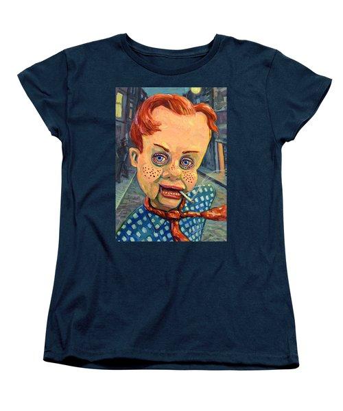 Howdy Von Doody Women's T-Shirt (Standard Cut) by James W Johnson