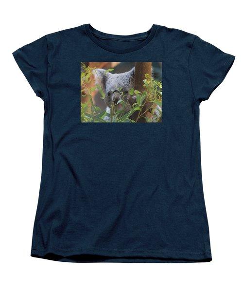 Koala Bear  Women's T-Shirt (Standard Cut) by Dan Sproul