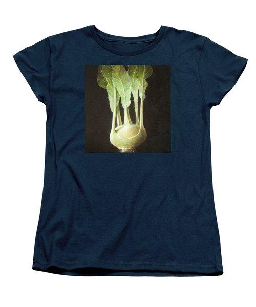 Kohl Rabi, 2012 Acrylic On Canvas Women's T-Shirt (Standard Cut) by Lincoln Seligman