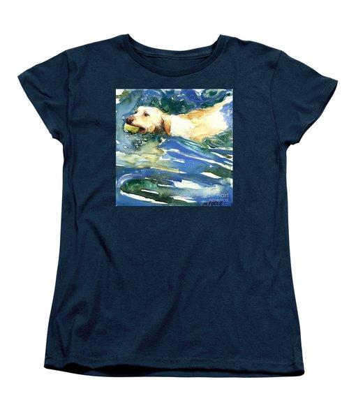 Lake Effect Women's T-Shirt (Standard Cut) by Molly Poole