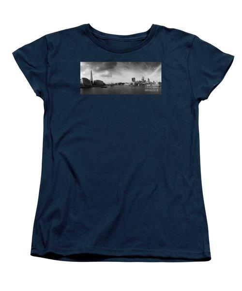 London City Panorama Women's T-Shirt (Standard Cut) by Pixel Chimp