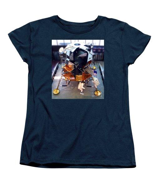 Lunar Module Women's T-Shirt (Standard Cut) by Kevin Fortier
