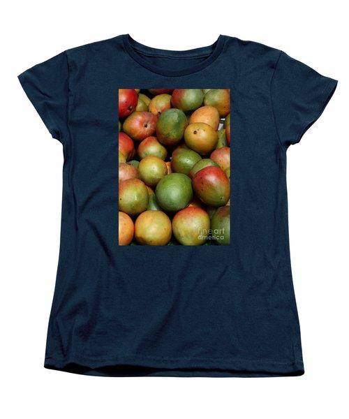Mangoes Women's T-Shirt (Standard Cut) by Carol Groenen