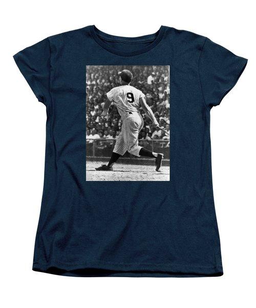 Maris Hits 52nd Home Run Women's T-Shirt (Standard Cut) by Underwood Archives