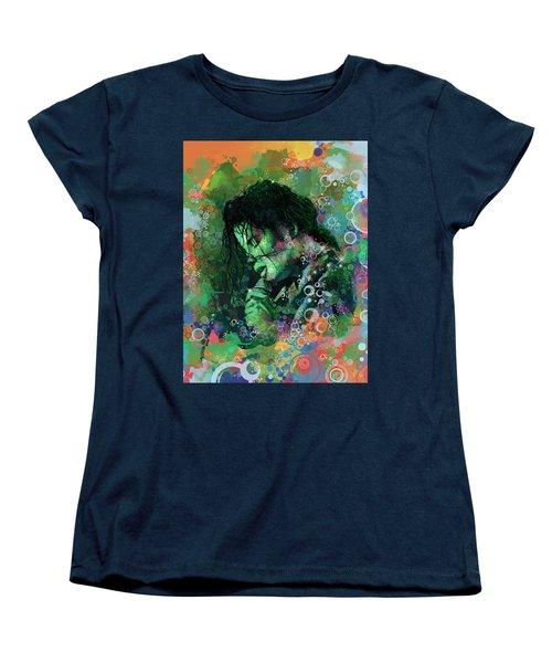 Michael Jackson 15 Women's T-Shirt (Standard Cut) by Bekim Art