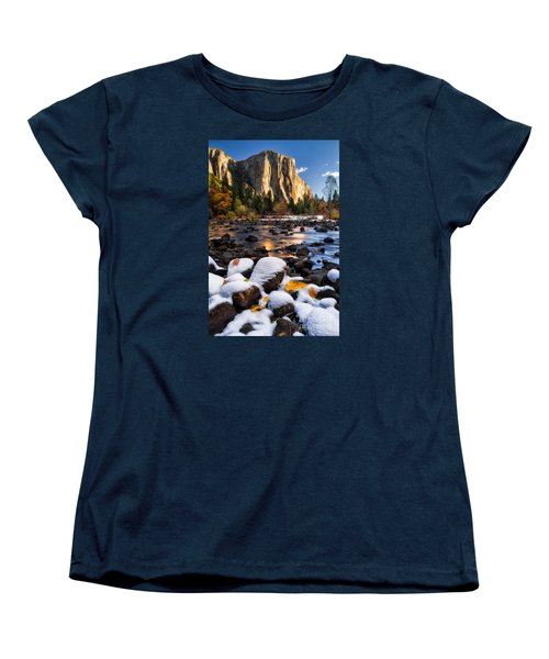 November Morning Women's T-Shirt (Standard Cut) by Anthony Bonafede