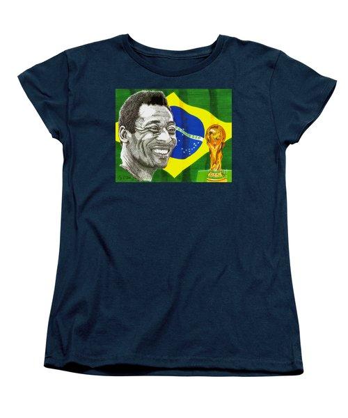 Pele Women's T-Shirt (Standard Cut) by Cory Still