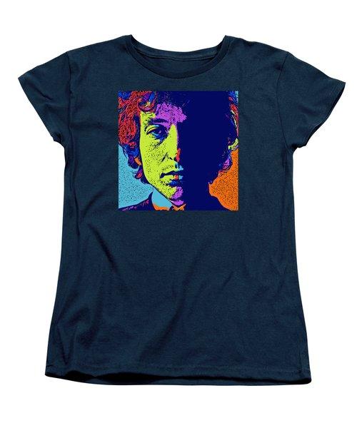 Pop Art Dylan Women's T-Shirt (Standard Cut) by David G Paul