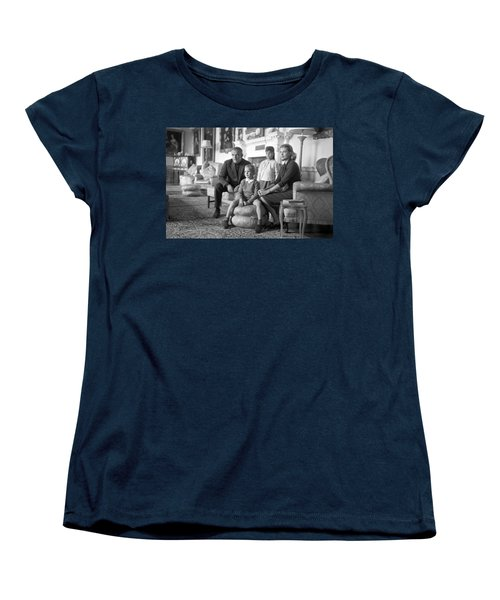 Princess Grace Of Monaco And Family In Ireland Women's T-Shirt (Standard Cut) by Irish Photo Archive
