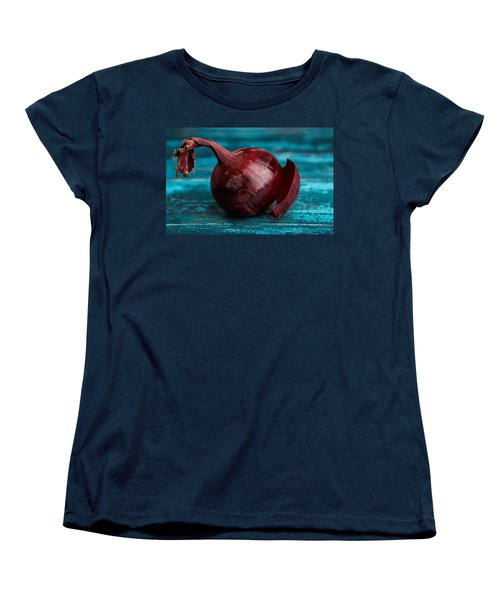 Red Onions Women's T-Shirt (Standard Cut) by Nailia Schwarz