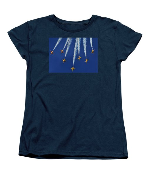 Women's T-Shirt (Standard Cut) featuring the photograph Republic Of Korea Air Force Black Eagles by Science Source