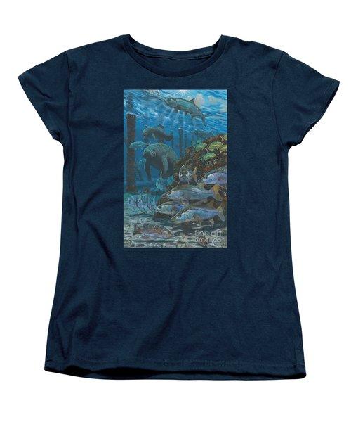 Sanctuary In0021 Women's T-Shirt (Standard Cut) by Carey Chen