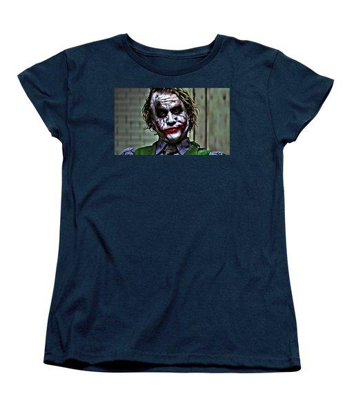 The Joker Women's T-Shirt (Standard Cut) by Florian Rodarte
