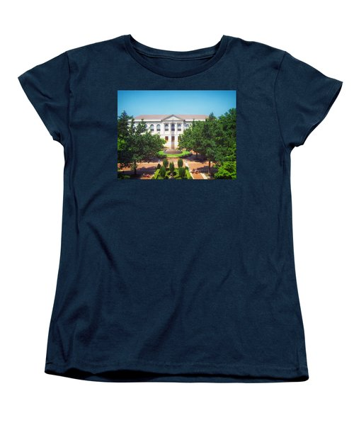 The Old Main - University Of Arkansas Women's T-Shirt (Standard Cut) by Mountain Dreams