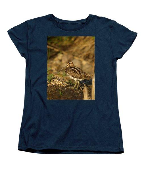 Wilson's Snipe Women's T-Shirt (Standard Cut) by James Peterson