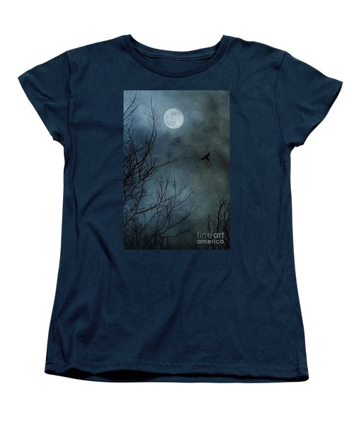 Winter's Silence Women's T-Shirt (Standard Cut) by Trish Mistric