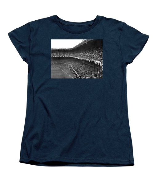 World Series In New York Women's T-Shirt (Standard Cut) by Underwood Archives
