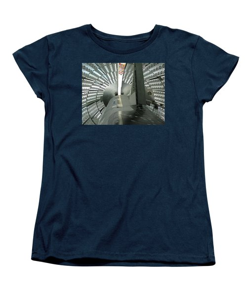 Women's T-Shirt (Standard Cut) featuring the photograph X-37b Orbital Test Vehicle by Science Source