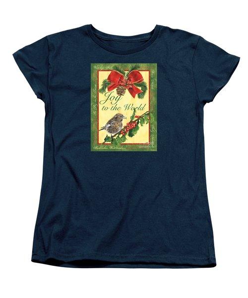 Xmas Around The World 2 Women's T-Shirt (Standard Cut) by Debbie DeWitt