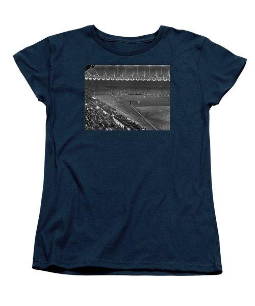 Yankee Stadium Game Women's T-Shirt (Standard Cut) by Underwood Archives