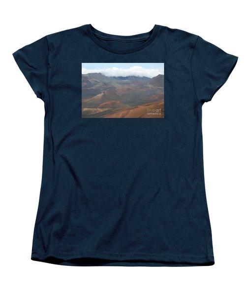 Haleakala Volcano Maui Hawaii Women's T-Shirt (Standard Cut) by Sharon Mau