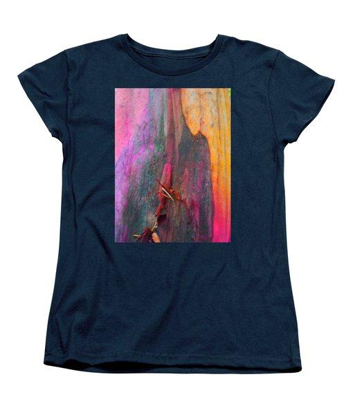 Women's T-Shirt (Standard Cut) featuring the digital art Dance For The Earth by Richard Laeton