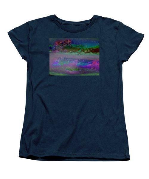 Women's T-Shirt (Standard Cut) featuring the digital art Grow by Richard Laeton
