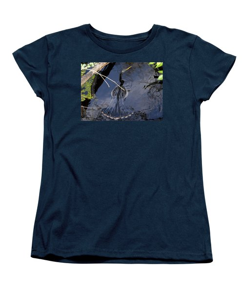 Swimming Bird Women's T-Shirt (Standard Cut) by David Lee Thompson