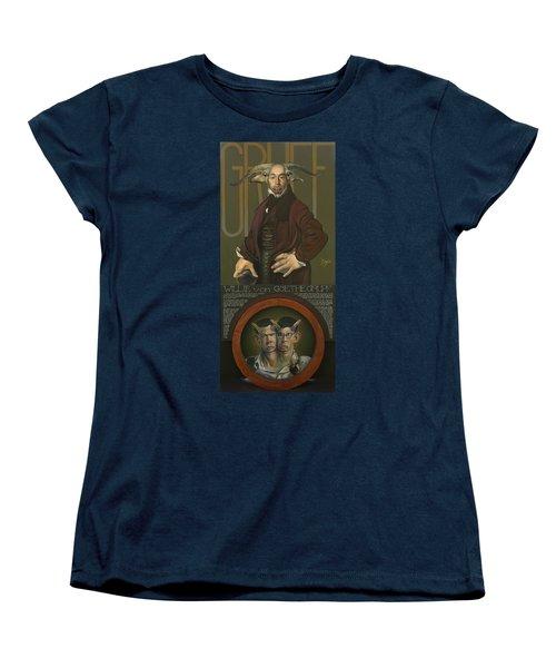 Willie Von Goethegrupf Women's T-Shirt (Standard Cut) by Patrick Anthony Pierson