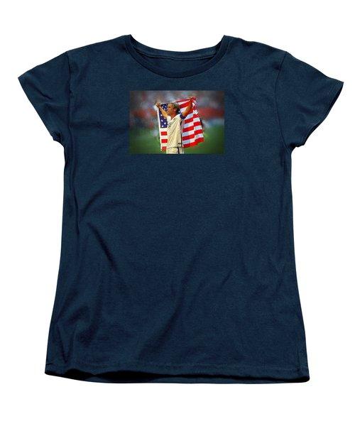 Carli Lloyd Women's T-Shirt (Standard Cut) by Semih Yurdabak