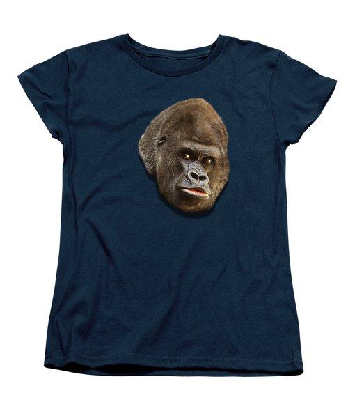Gorilla Women's T-Shirt (Standard Cut) by Ericamaxine Price