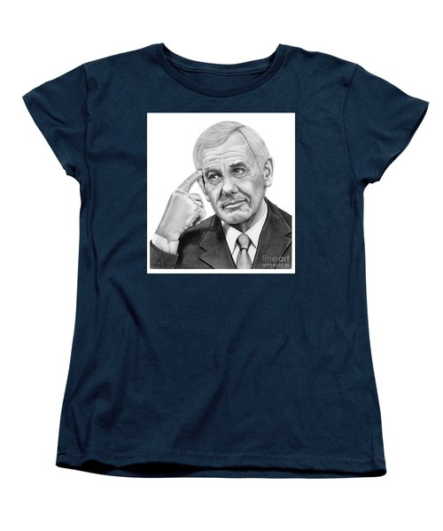 Johnny Carson Women's T-Shirt (Standard Cut) by Murphy Elliott