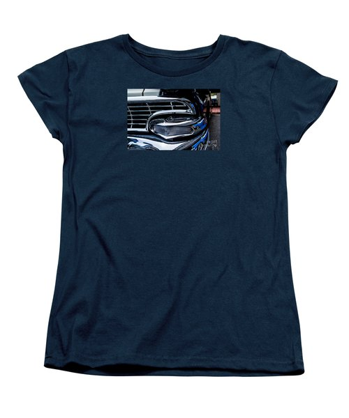 Women's T-Shirt (Standard Cut) featuring the photograph 1958 Ford Crown Victoria by M G Whittingham