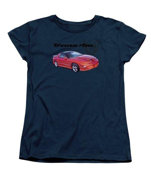 1999 Trans Am Women's T-Shirt (Standard Cut) by Paul Kuras