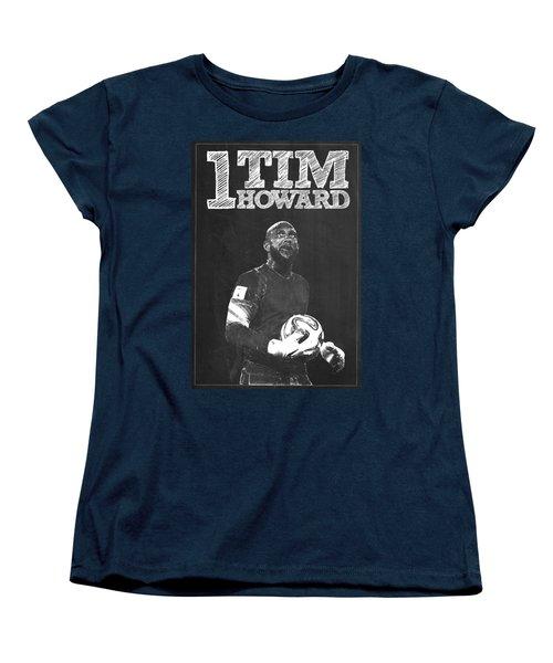 Tim Howard Women's T-Shirt (Standard Cut) by Semih Yurdabak