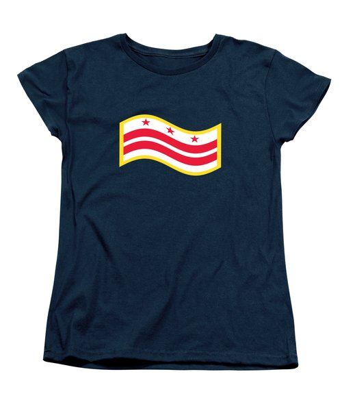 Washington, D.c. Flag Women's T-Shirt (Standard Cut) by Frederick Holiday