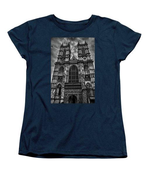 Westminster Abbey Women's T-Shirt (Standard Cut) by Martin Newman