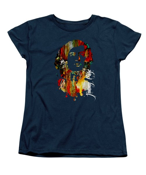 Jimmy Page Collection Women's T-Shirt (Standard Cut) by Marvin Blaine