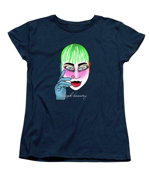 Leigh Bowery  Women's T-Shirt (Standard Cut) by Mark Ashkenazi