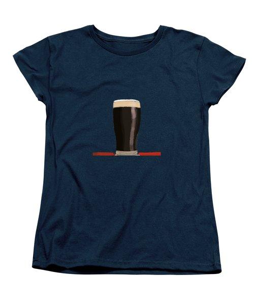 A Glass Of Stout Women's T-Shirt (Standard Cut) by Keshava Shukla