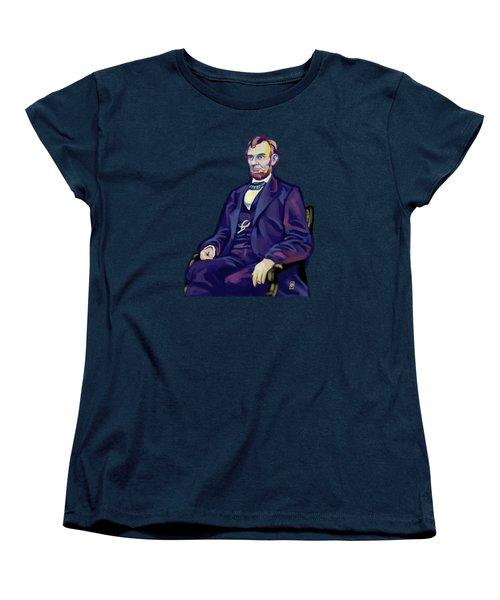 Abe Women's T-Shirt (Standard Cut) by Rob Snow