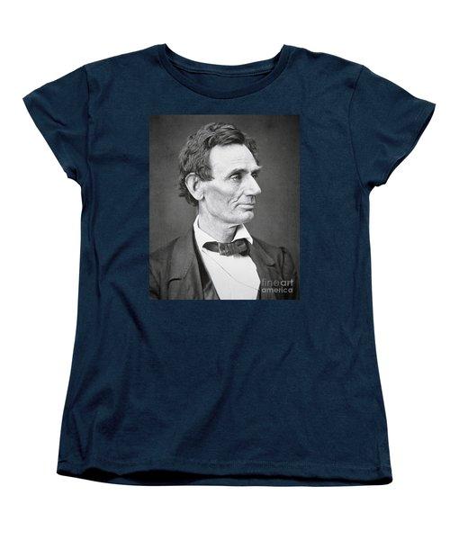 Abraham Lincoln Women's T-Shirt (Standard Cut) by Alexander Hesler