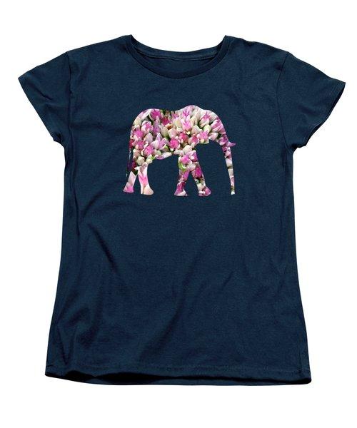 Abstract Sedum Women's T-Shirt (Standard Cut) by Christina Rollo