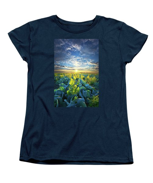 All Joined As One Women's T-Shirt (Standard Cut) by Phil Koch